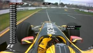 GP Australii 2010 FP2 – Onboard Kubicy