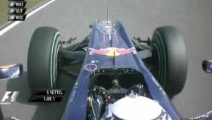 Końcówka Q3 – GP Chin 2010