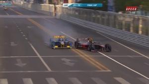 Wypadek Nicka Heidfelda w Formula E.